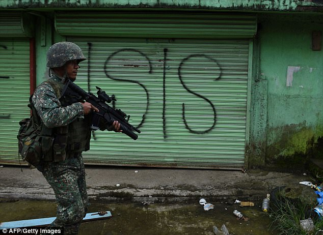 Australian troops could be sent to Philippines to combat IS in Marawi City (pictured)