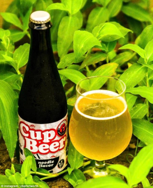 Slurp it up! In 2018, the Collective Brewing Co. in Fort Worth, Texas brewed beer with ramen
