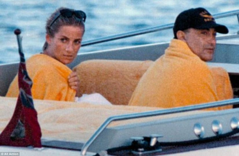 The couple photographed enjoying their final days together aboard a boat in Sardinia