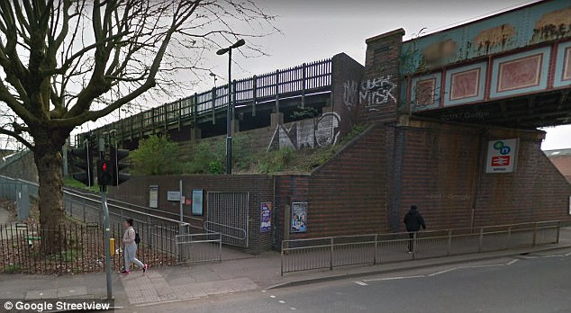 Attack: The teen was first assaulted in a secluded part of Witton railway station (pictured), in Birmingham, between 7pm on Tuesday and 2am the following morning