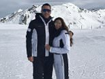 Former England captain John Terry and his wife Toni