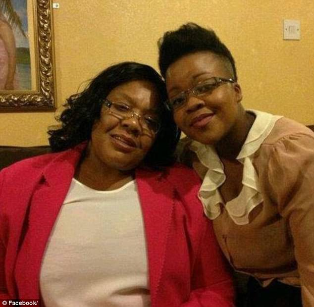 Beatrice Lovane, pictured with her mother Maria Lovane, 55, died from an allergic reaction to painkillers