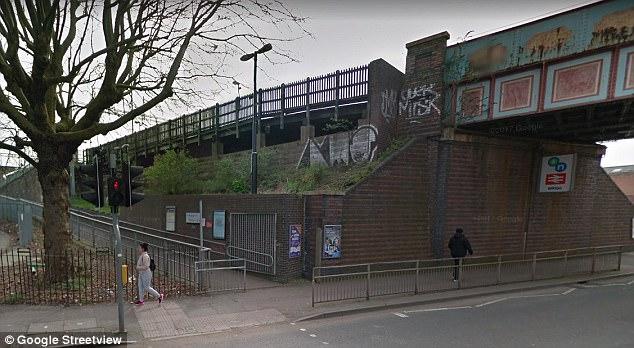 Ataque: El adolescente fue asaltado por primera vez en una parte apartada de la estación ferroviaria de Witton (foto), en Birmingham, entre las 7 pm el martes y las 2 am la mañana siguiente
