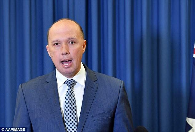 El ministro de Protección de Fronteras, Peter Dutton (en la foto), se ha negado a revelar detalles de la supuesta trama