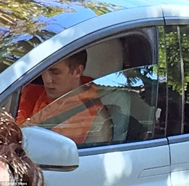 Jake Paul Ticketed By Police For Sitting In His Car