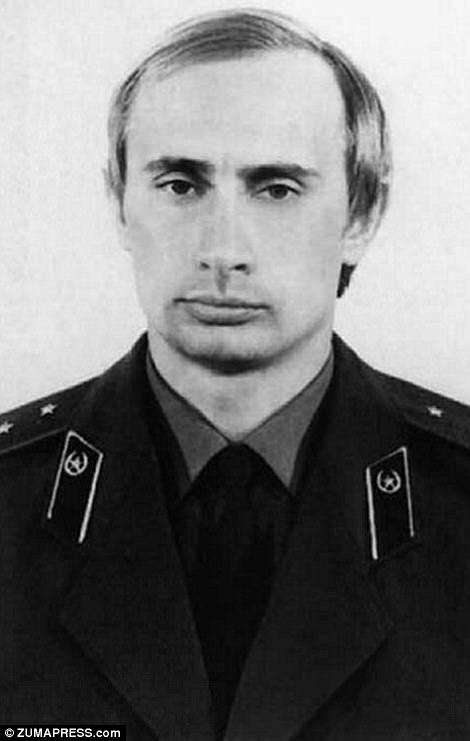 Путин около 1980 года