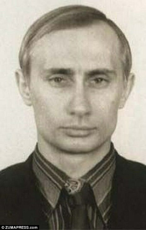 Pictures from before Vladimir Putins presidency  Daily Mail Online