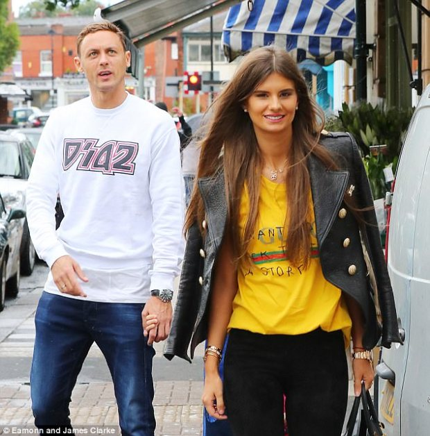 Nemanja Matic and his wife Aleksandra explore Cheshire following his move to Manchester