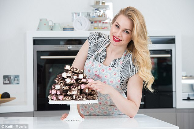 Some of Alana's cakes contain between 400 and 500 calories, such as her Rocky Road, which contains 462 calories a slice. But she says they contain all natural ingredients and no preservatives