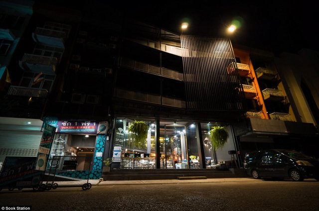 Exterior: Located in Bangkok's up-and-coming Udomsook district, the budget inn costs £30 per person per night