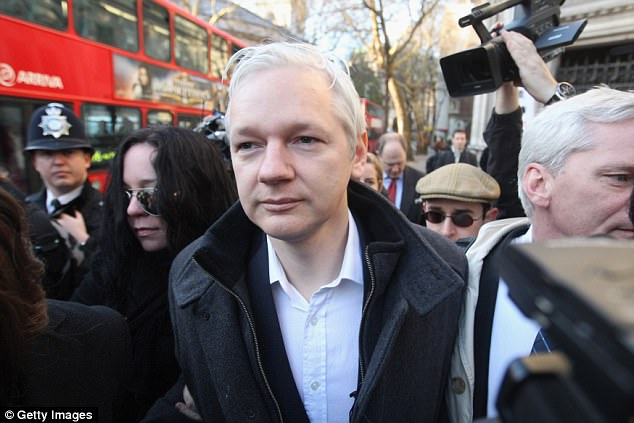 Julian Assange (stock photo)