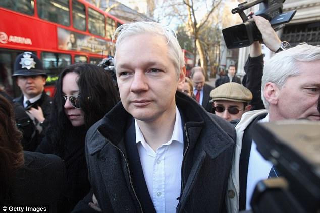 Julian Assange (stock photo)