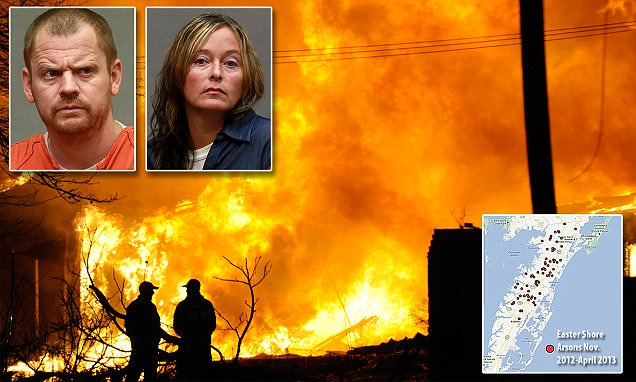 How bedroom issues led Virginia couple on arson spree
