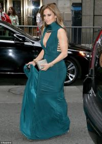 Jennifer Lopez stuns in gown with Alex Rodriguez in NY ...