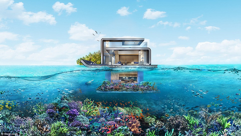 Upgrade: The first Floating Seahorse villas were unveiled last year, but the Signature Editions are more extravagant