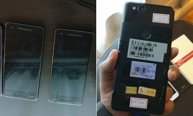Leaked images allegedly of the Google Pixel 2 reveal some of the device's rumored features. According to the photos, it appears the upcoming device will indeed have a curved screen