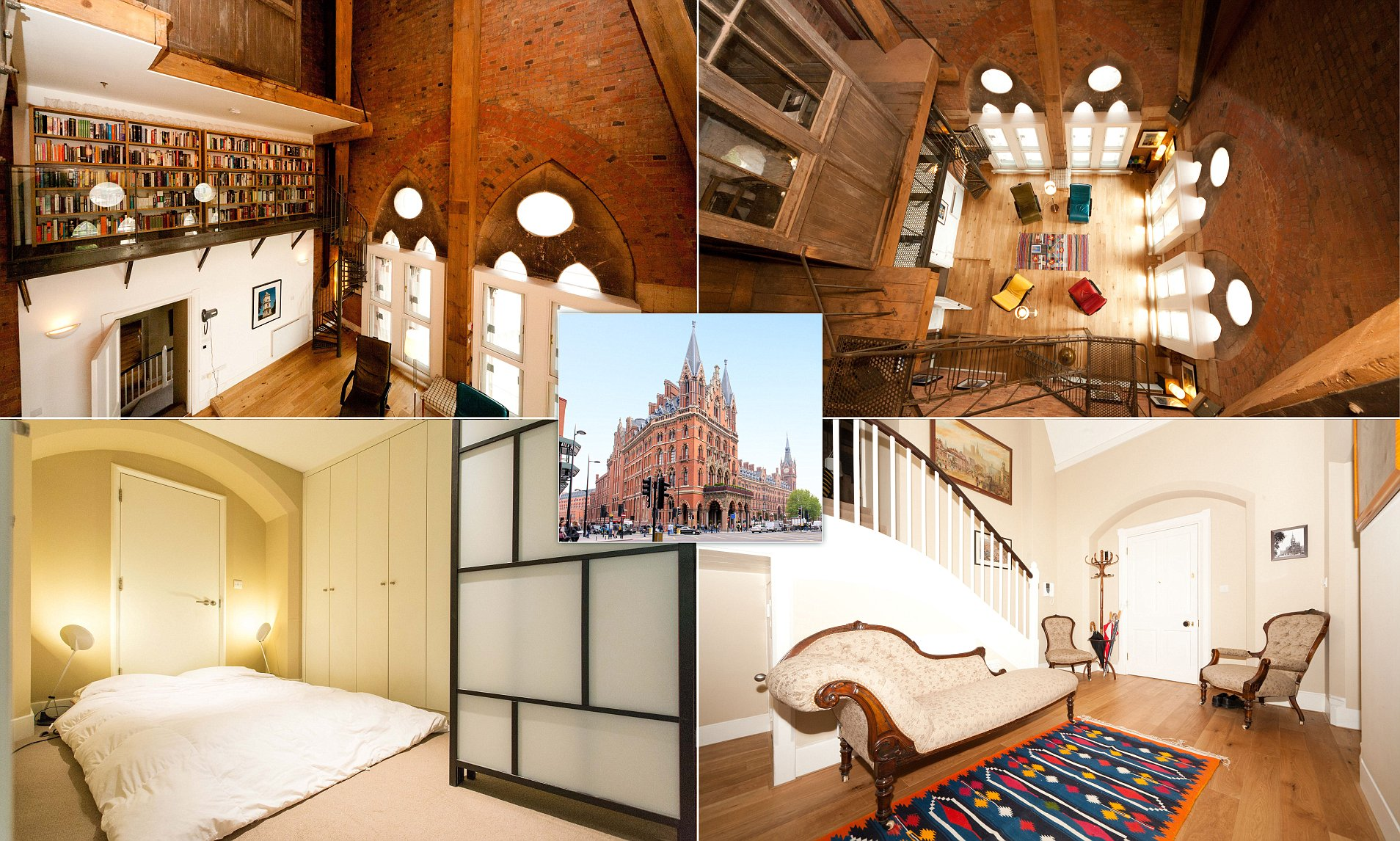 The Airbnb Apartment Inside St Pancras Clock Tower Daily