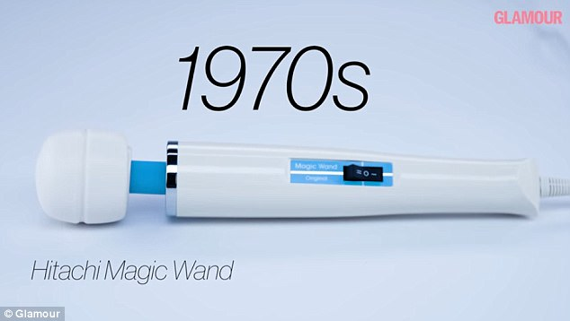 Industry legend: Toys began becoming more sleek and phallic as the years when by