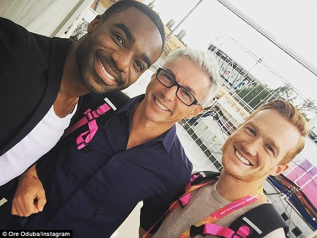 Strictly Come Dancing winner Ore Oduba has struggled hosting the World Championships