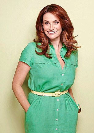 Sarah Parish (pictured) was in need of some relaxation and she found it in Turky