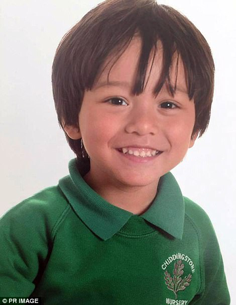 Julian Cadman, seven, believed to be from Britain, is missing after the terror attack in Barcelona has his family appeal for news