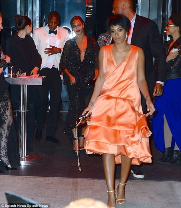 JayZ talks about elevator fight with Solange Daily Mail