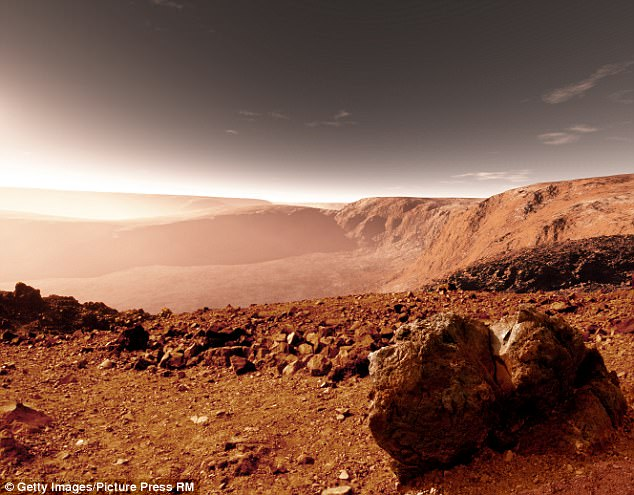 When astronauts one day step foot on the red planet for long-term exploratory missions, they¿ll be up against an invisible adversary ¿ space radiation. An artist's impression of Mars is pictured