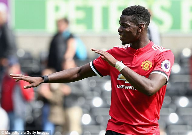 Pogba will win the Ballon d'Or in the next five years, says United team-mate Anthony Martial