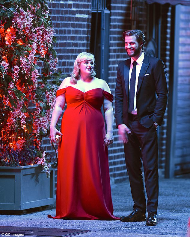 Hitting UK/US theaters February 14! The Hunger Games alum next plays Blake in Todd Strauss-Schulson's rom-com satire Isn't It Romantic alongside Rebel Wilson (L, pictured in 2017)