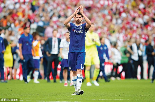 Conte says the situation with wantaway striker Diego Costa is no different than before