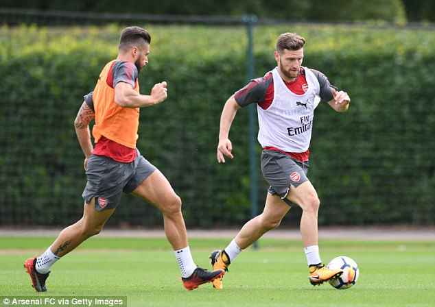 Arsenal are willing to sell Shkodran Mustafi before the summer transfer window closes