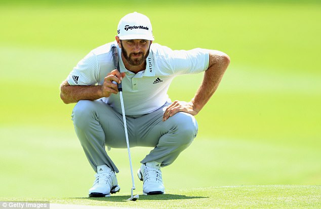 World No 1 Dustin Johnson rivals Spieth at the summit in New York after a blemish-free round