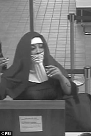 Two women dressed in nuns habits held up a bank in Tannersville, Pennsylvania, on Monday