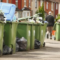 Bradford Council Sofa Removal Big Size Cushion Bin Lorries Carrying Spy Cameras To Catch You Out Daily Mail Online People Have Even Resorted Burning Their Rubbish Because Collections Are Missed So Much