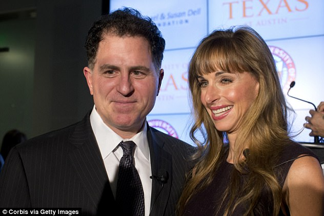 Michael and Susan Dell have pledged a total of $36million to Hurricane Harvey relief and have launched the Rebuild Texas Fund