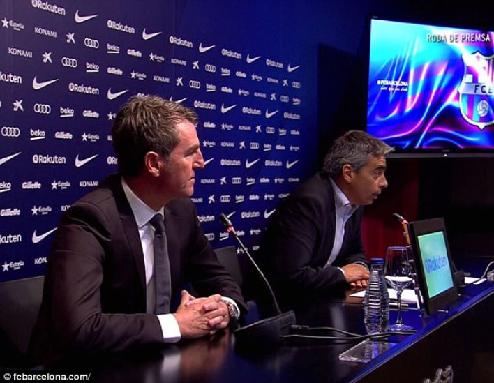 The two directors explained why Barcelona made decisions in the summer transfer market