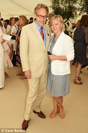 New Duke: Charles and wife Janet