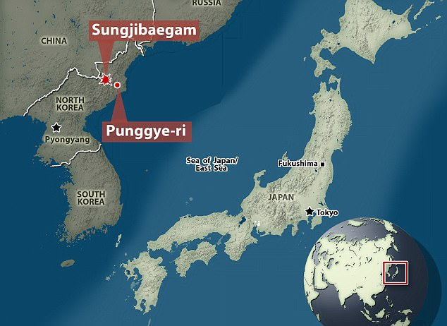 Yonhap, South Korea's official news agency, reports the quake from the test struck near where North Korea's nuclear test site Punggye-ri is located