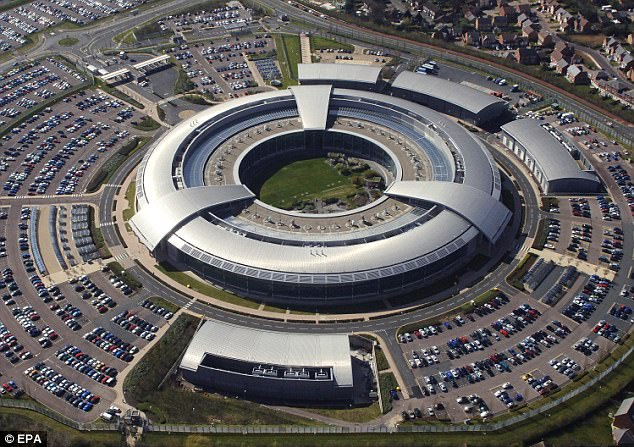 What is unclear is whether British agencies such as GCHQ in Cheltenham (pictured), or the various units that comprise the military's Joint Forces Cyber Group, have been assisting with these attacks