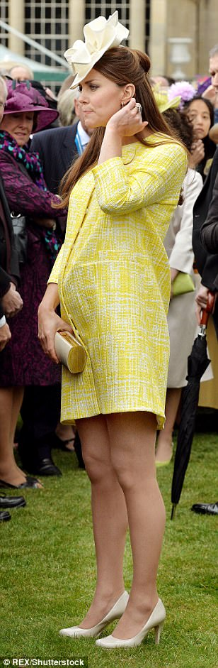 Emilia Wickstead coat for a spring royal garden party