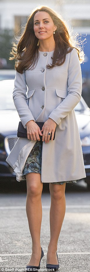 Jan 2015: A softly styled coat by Seraphine