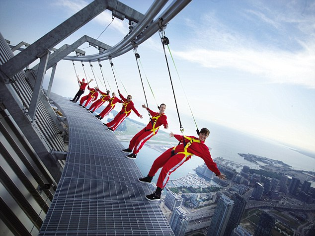 You still can't beat the heart pumping high of walking 356m/1168ft (116 storeys) above the ground at the CN Tower on the EdgeWalk