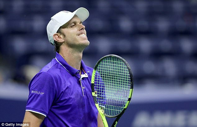 Querrey lost out on top of a predictably tight encounter that finished just before 2am