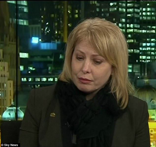 Speaking to Andrew Bolt on Sky News on Thursday night Dr Carling-Jenkins (pictured) also revealed political opponents had threatened to use her husband's paedophilia against her