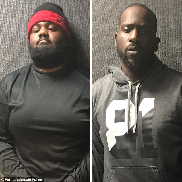 Meanwhile, Fort Lauderdale police announced the arrest of two alleged looters who broke into six homes overnight Saturday. Authorities identified the suspects as Ryan Cook and Max Saintvil, both 28 years of age
