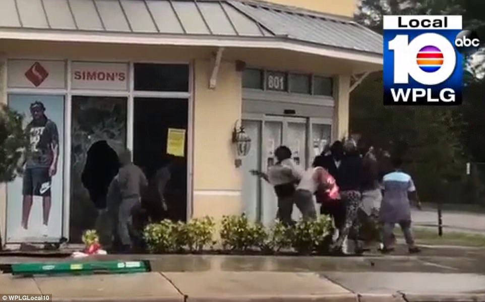 At least 32 people have been arrested across Florida for trying to loot empty businesses and homes that have been evacuated in preparation for Hurricane Irma