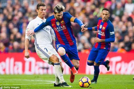 Joshua believes Cristiano Ronaldo's power would overcome Lionel Messi's ruggedness