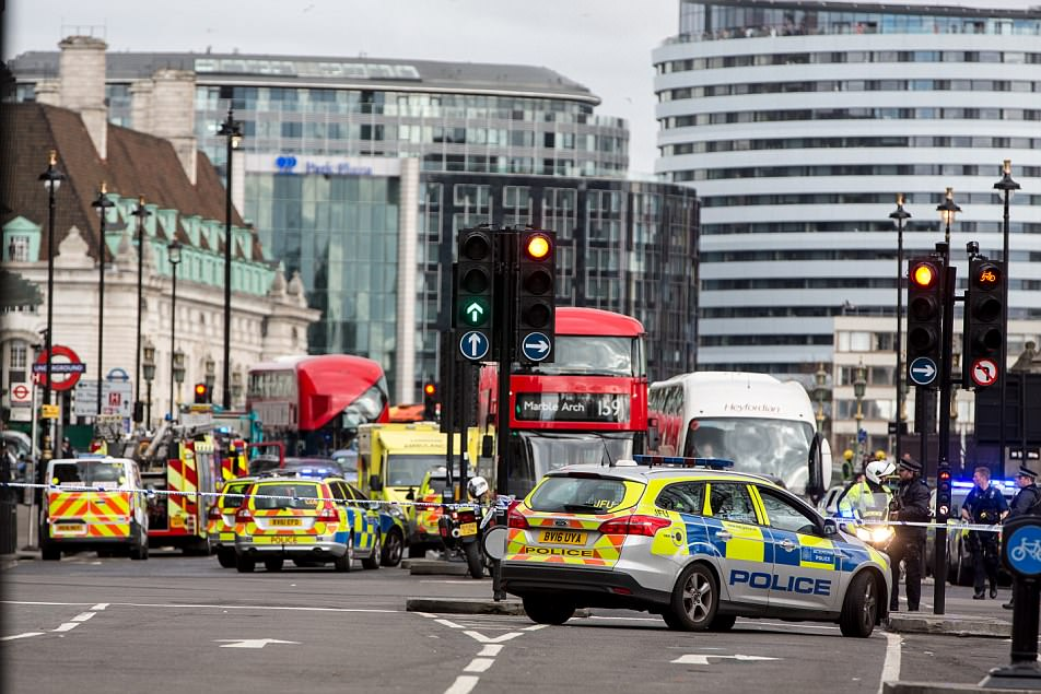 March 22: Five people were killed in a car and knife attack in Westminster, London