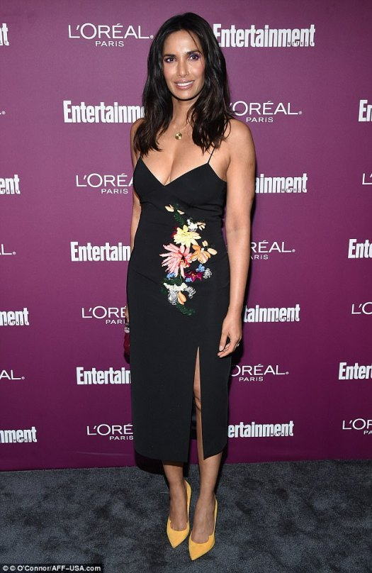 Top chef: Padma Lakshmi cooked up the hotness