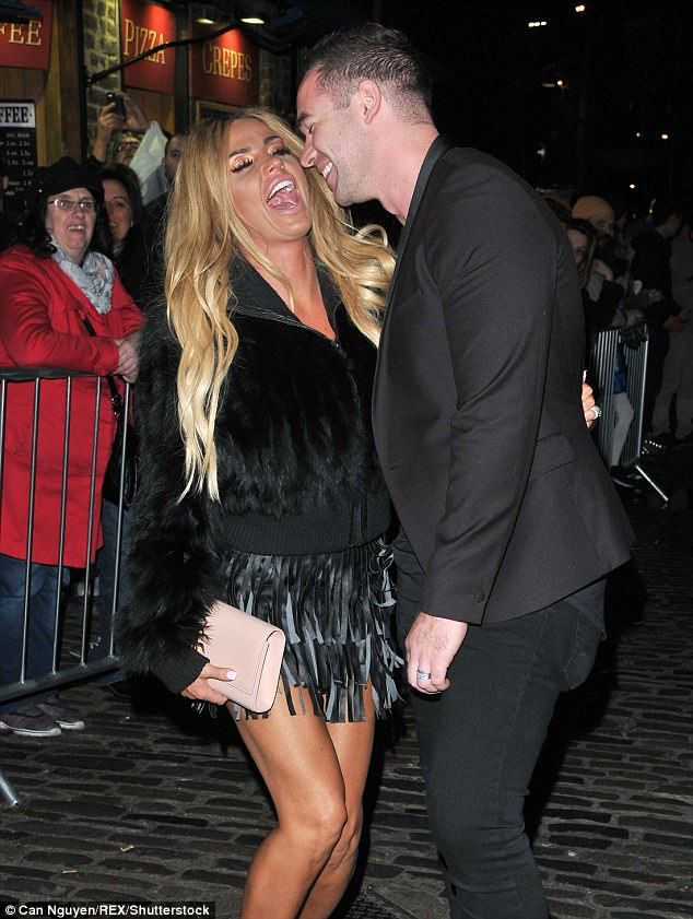 No holds barred;The former glamour model had made a typically fiery start to her appearance in the West Country, asking the baying crowd what they thought of Kieran, with Katie agreeing with one insult levelled at him, calling him a 'w****r'